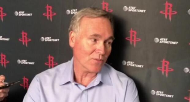 德安东尼:吾们必须要命中空位投篮,篮板是重点