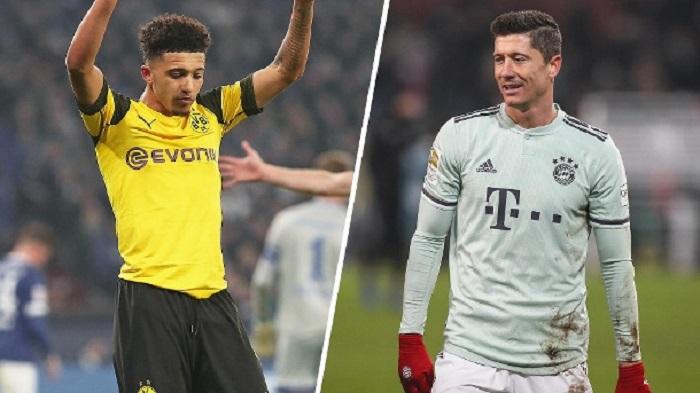 德甲球员最新身价:莱万桑乔7000万领衔,哈弗茨并列第三