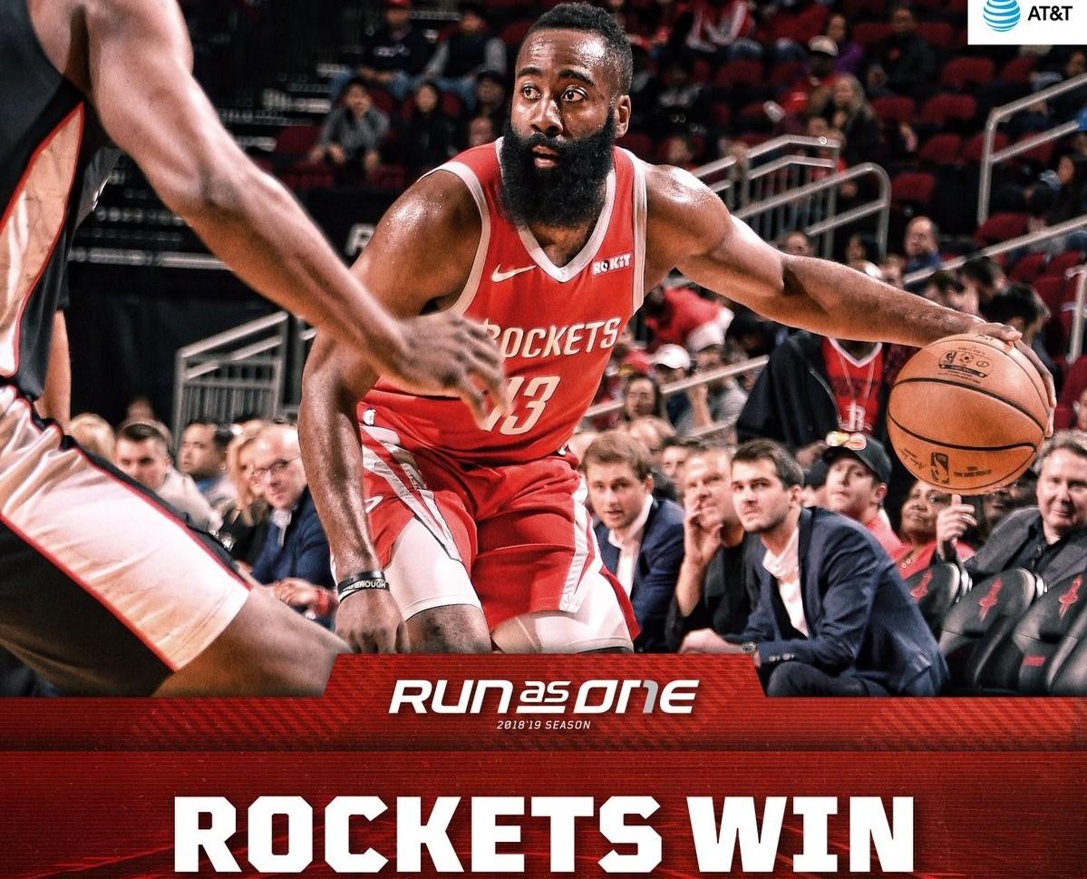 26记三分!火箭打破NBA历史单场三分命中数纪录