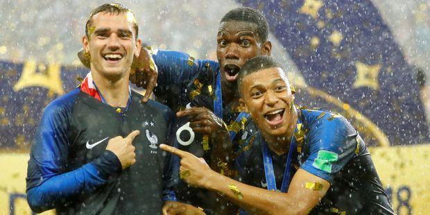 法媒:法国23名参加世界杯的球员将被授予荣誉军团勋章