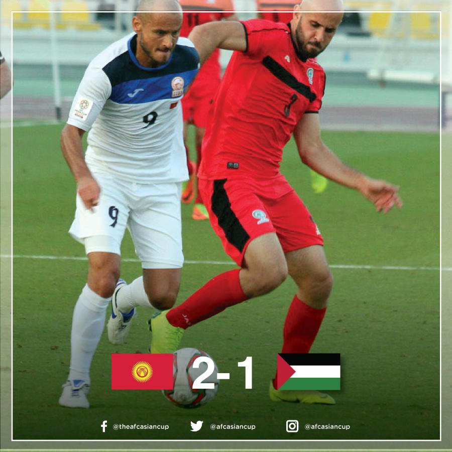 国足危矣?首战对手吉尔吉斯斯坦相继战胜约旦巴勒斯坦