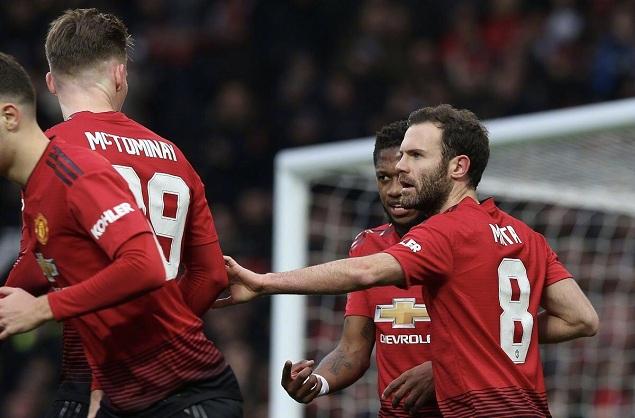 足总杯:马塔点射卢卡库破门,曼联2-0雷丁晋级32强