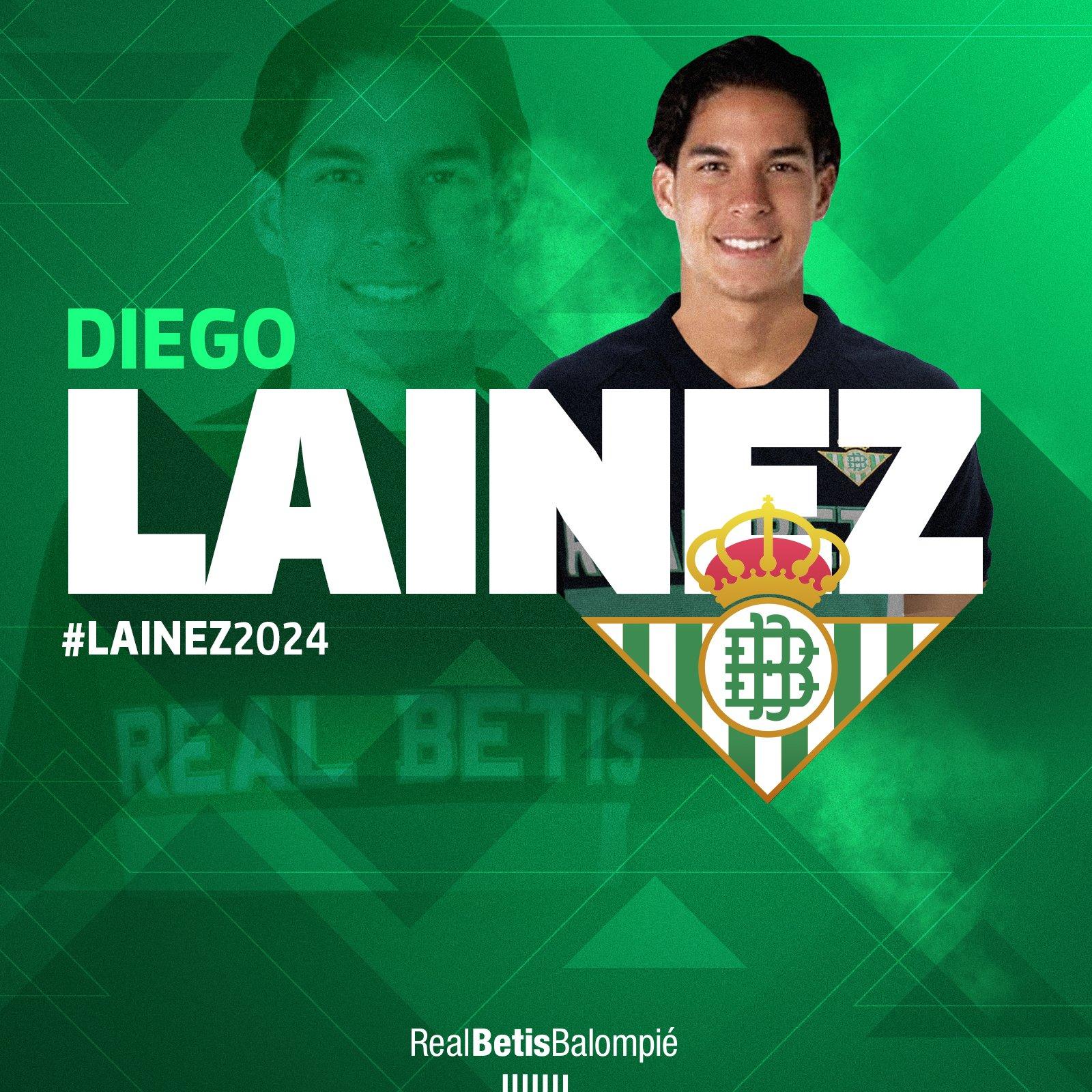 官方:皇家贝蒂斯签下墨西哥18岁国脚翼卫莱内斯