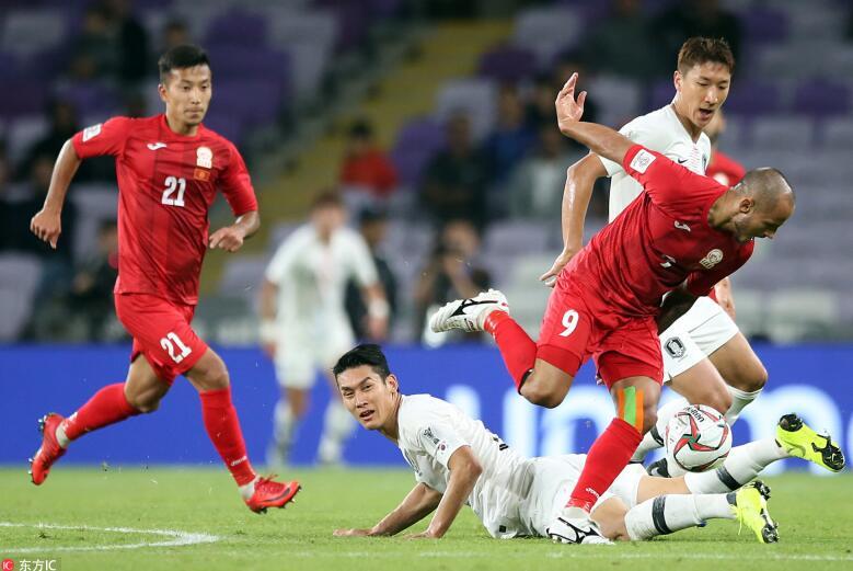 C组形势:中韩携手出线,国足下轮打平即可获头名