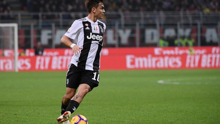 对阵米兰若进球,迪巴拉将成为意大利超级杯史上最佳射手