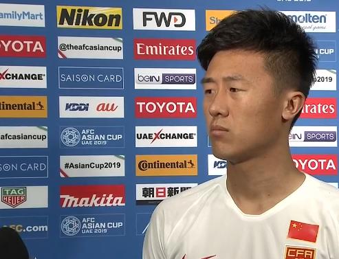 刘洋:踢韩国是宝贵经验,下一场踢泰国必须要赢