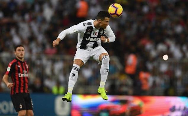 意超杯:C罗制胜球凯西染红,尤文1-0米兰夺冠