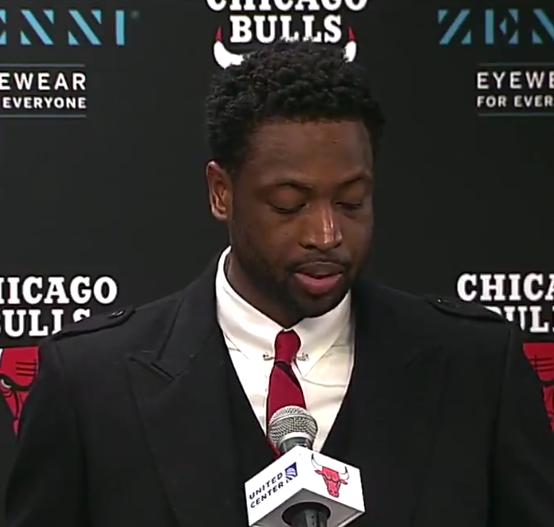 韦德:感谢公牛和芝加哥球迷的爱