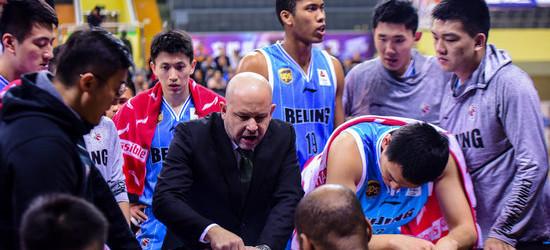 北京男篮提前9轮锁定季后赛席位