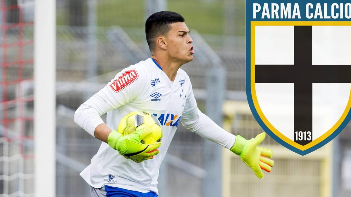 好悬!帕尔马引进的巴西U20 国门在购物中心签合同