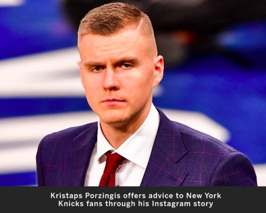 啥意思?KP发动态:对尼克斯球迷的建议就是保