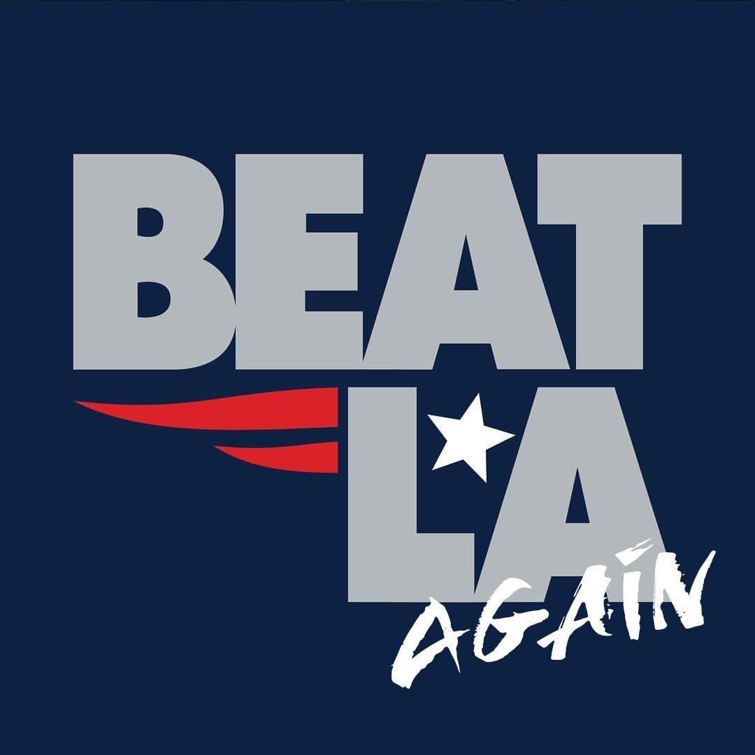 凯尔特人官方为爱国者加油:Beat LA