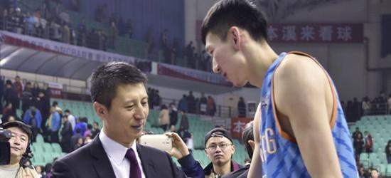 记者:周琦已经正式决定加盟辽宁男篮