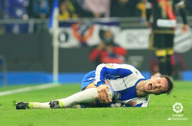 官方:西班牙人边锋皮亚蒂膝盖韧带撕裂,将接受手术