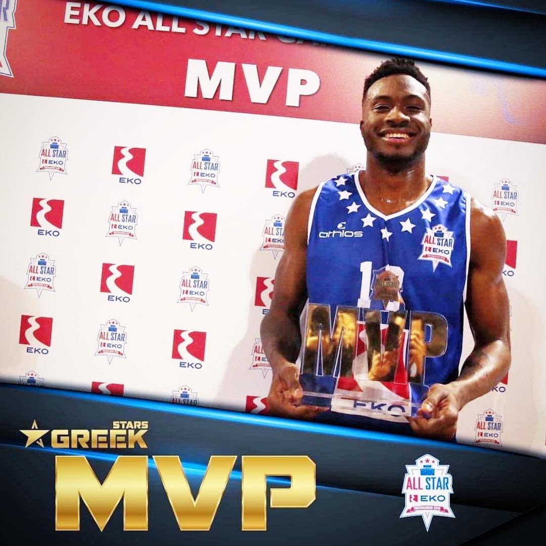 字母哥祝贺大哥连续两年获得希腊联赛全明星MVP