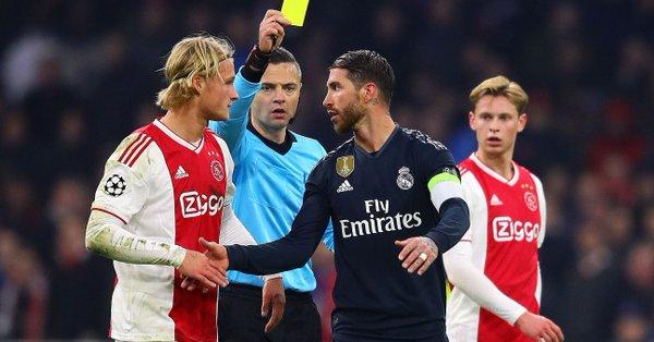 """官方:欧足联已对拉莫斯疑似""""洗牌""""的行为展开调查"""
