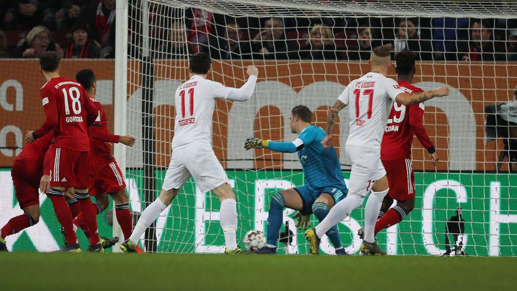 奥格斯堡后卫:拜仁的是我们赛前就演练过的