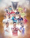 欧联杯16强:西甲3队,英意俄各两队,德法各一队