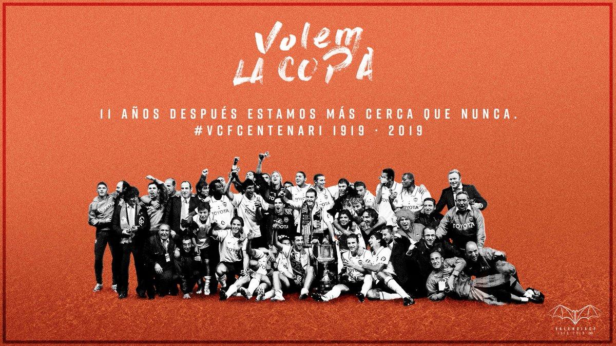 瓦伦西亚时隔11年重返国王杯决赛,将与巴萨争冠