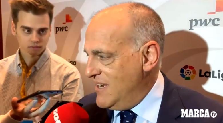 Laliga主席回应皮克:踢球很好,但并不懂司法