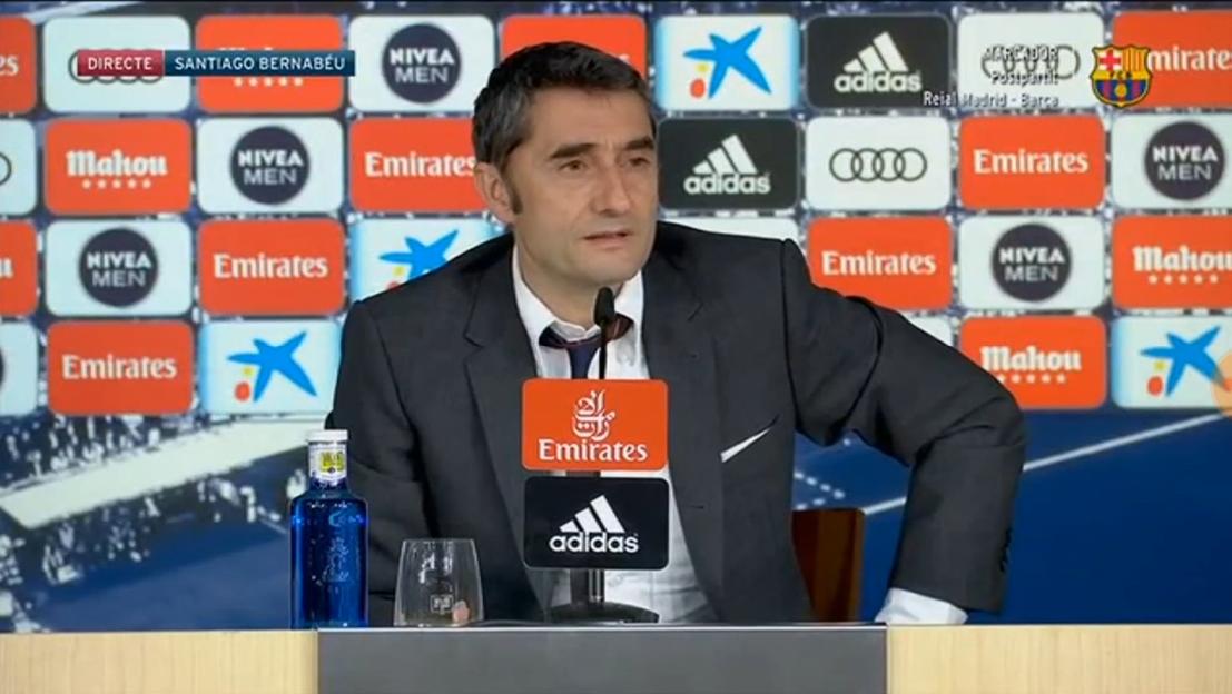巴尔韦德:去年联赛分差更大,皇马不也赢了欧冠?