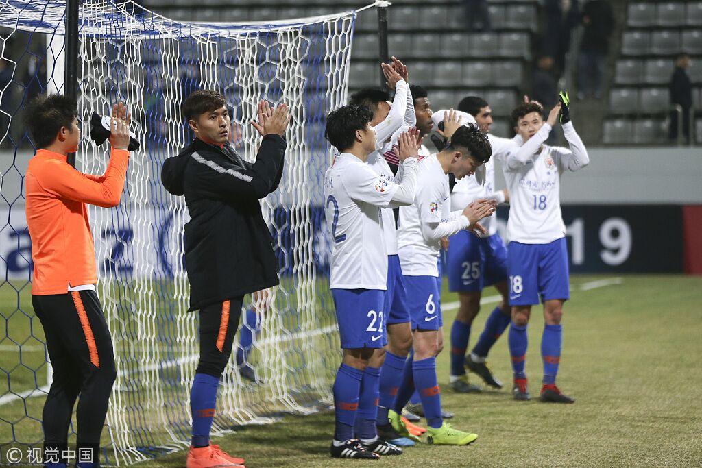 尴尬!鲁能9次客战韩国球队4平5负未尝胜绩