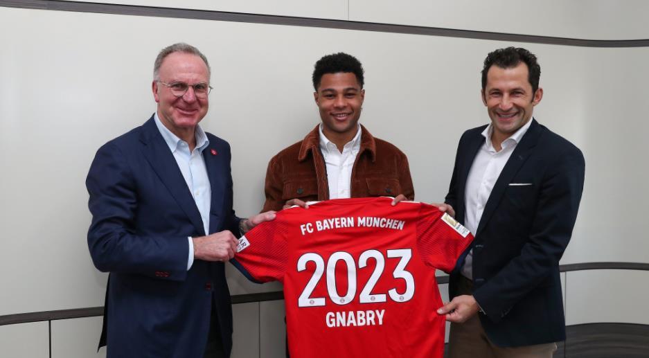 官方:拜仁与格纳续约至 2023年