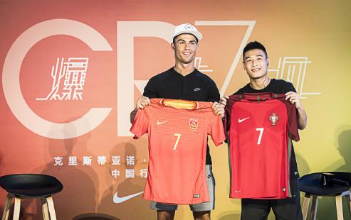 C罗发博夸赞武磊:一个进球, 一座中国的里程碑
