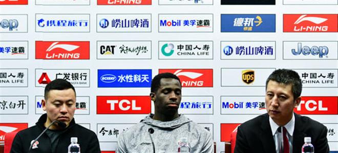 郭士强:球员表现很令人满意, 卫猛出色完成任务