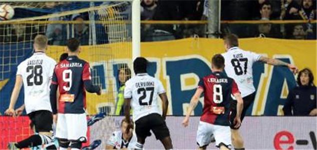 意甲:库茨卡一锤定音,帕尔马主场1-0热那亚