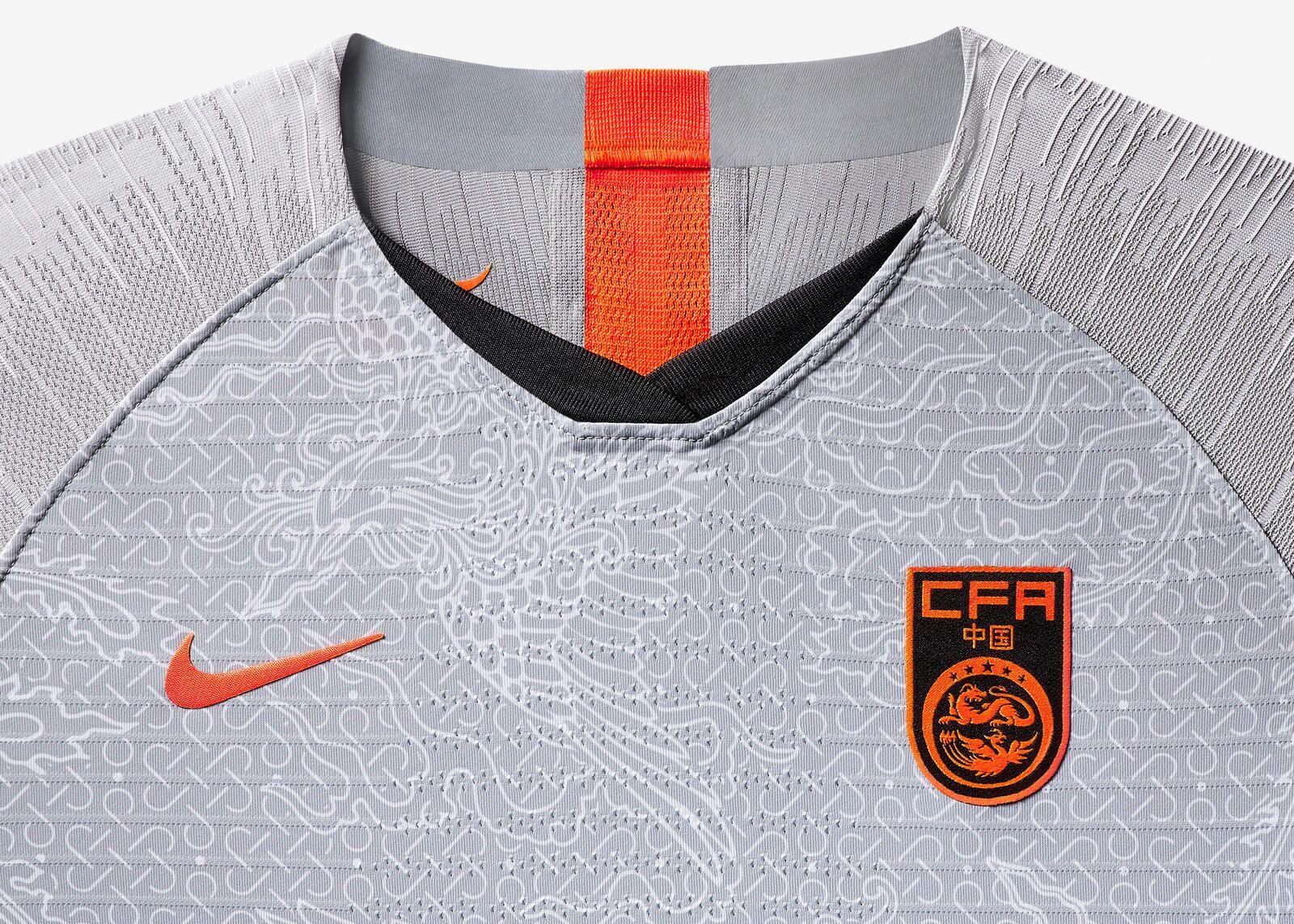 """耐克发布中国女足世界杯球衣,客场""""灰凤袍""""首度亮相"""