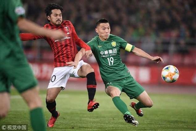 亚冠:巴坎布屡失良机+进球无效,国安0-0浦和