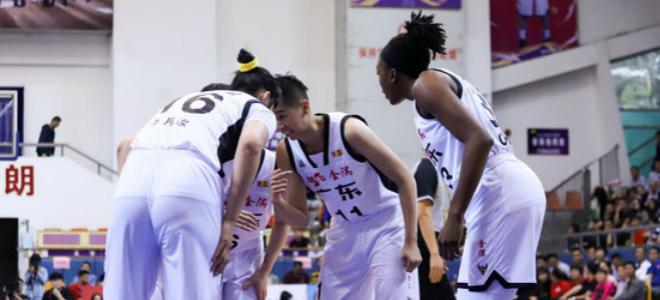 WCBA总决赛首战:李月汝23 17,广东大胜八一