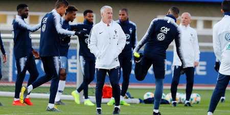 德尚:我不担心乌姆蒂蒂;齐达内未来会成为法国队主帅