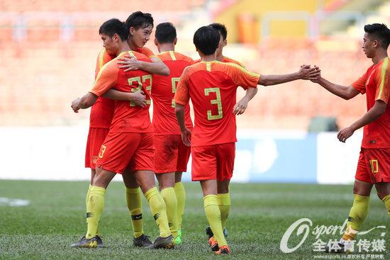 U23亚预赛:杨立瑜双响张玉宁两助攻,国奥5-0老挝