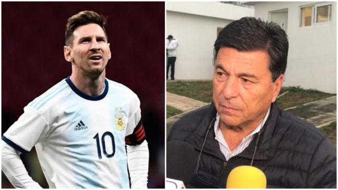 名宿:梅西很伟大,但他在巴萨和在阿根廷踢球的态度不同