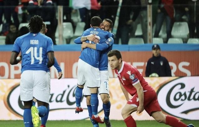 欧预赛:夸神2射1传破纪录,意大利6-0列支敦士登