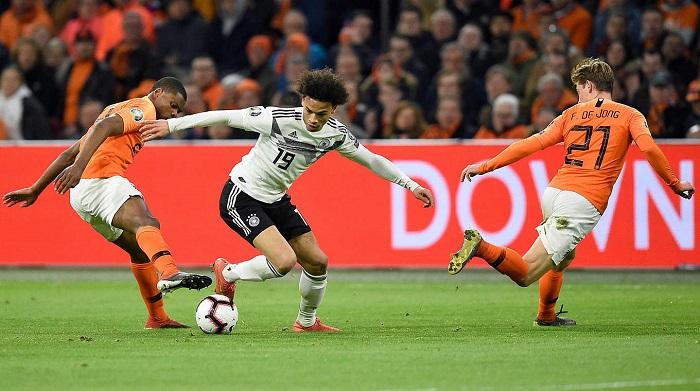 表现稳定, 萨内连续两场当选德国队比赛最佳