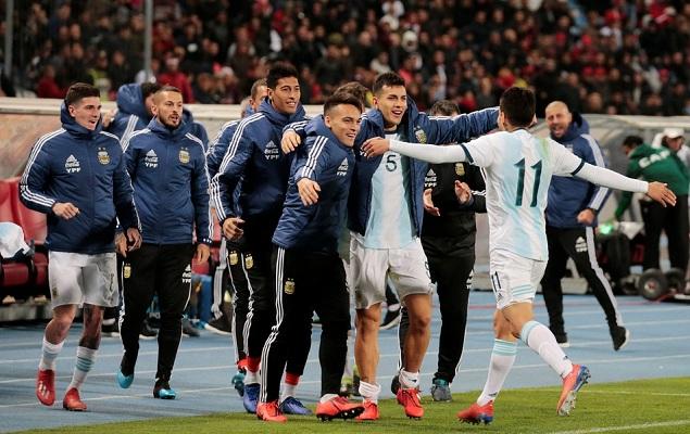 友谊赛:梅西缺阵科雷亚破门制胜,阿根廷1-0摩洛哥