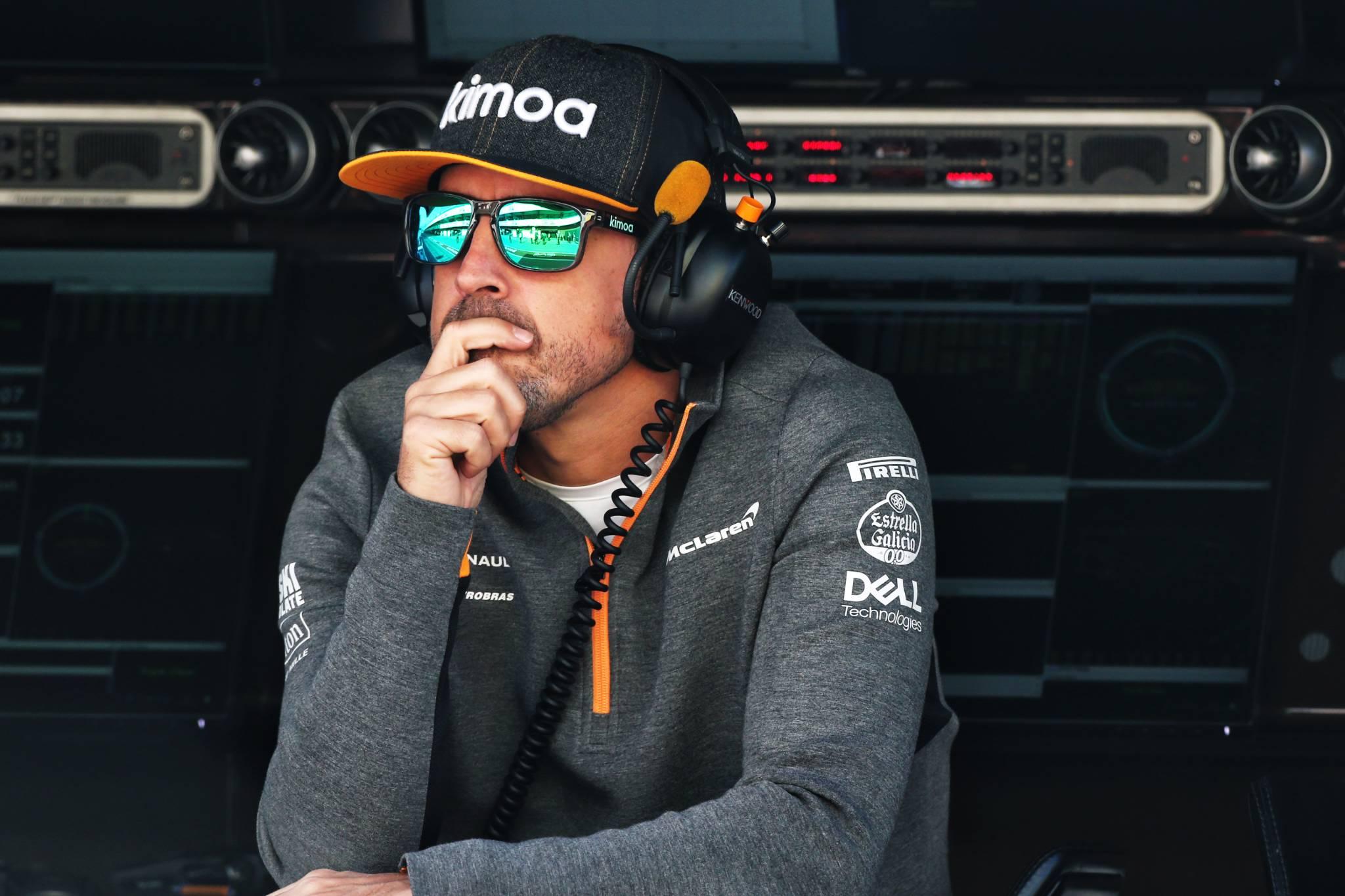 阿隆索将代表迈凯伦参加巴林测试
