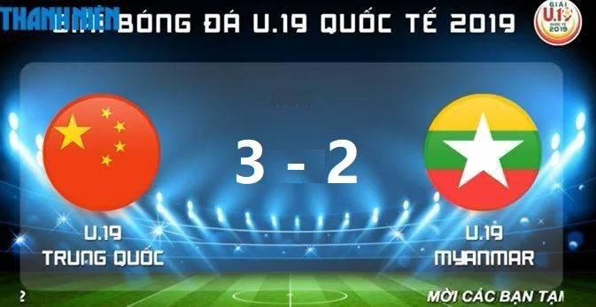 U19邀请赛:马辅渔两球,中国3-2胜十人缅甸获季军