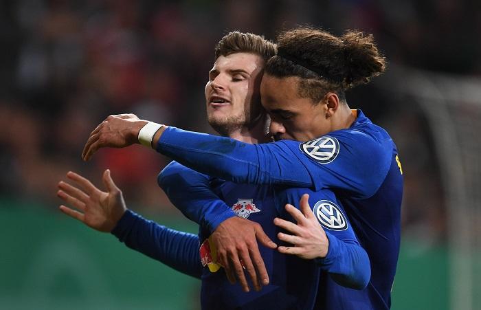 各项赛事11场不败,莱比锡进入德国杯四强