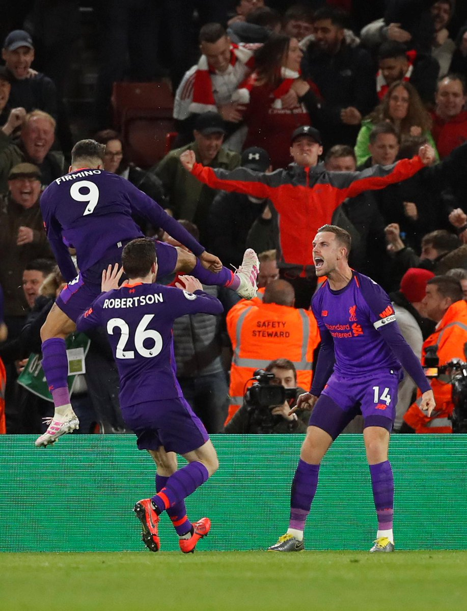 GIF:菲尔米诺助攻亨德森包抄破门,利物浦锁定胜局
