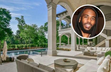 保罗卖掉其在休斯顿伍德兰市的豪宅,成交价585万美元