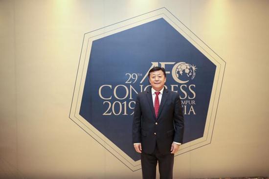 杜兆才:正准备申办亚洲杯方案,以此为基础申办世界杯