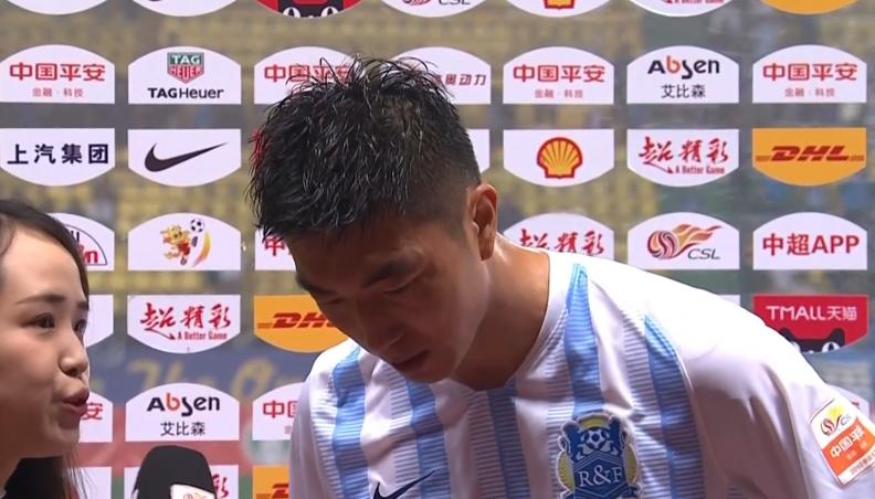 姜积弘:进球带来胜利很开心,登贝莱受伤对球队有影响