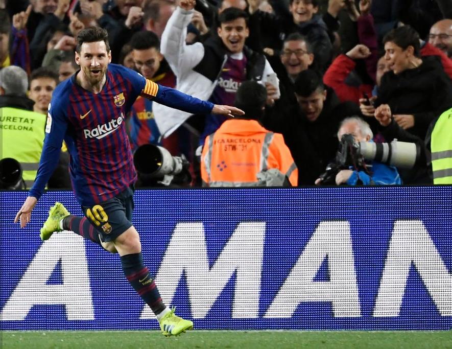 五大联赛进球均数均上双球员:梅西阿扎尔领衔