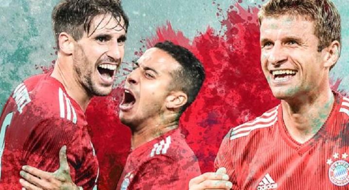 德媒评价拜仁中场:穆勒、哈马和蒂亚戈状态出色