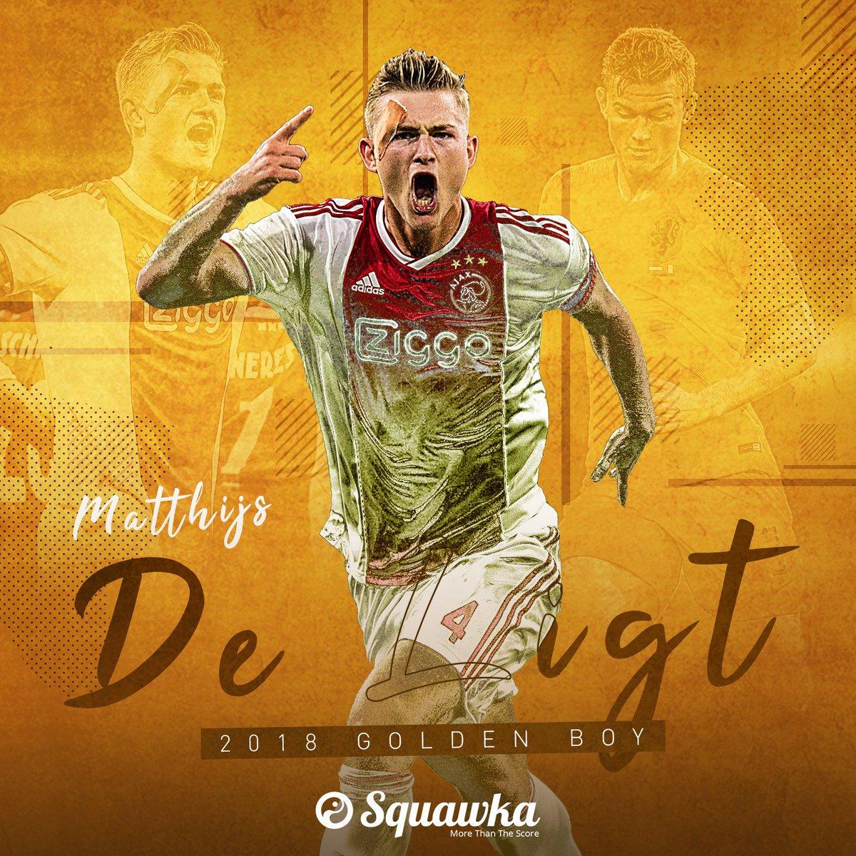 当之无愧的金童!德里赫特成欧冠进球最年轻的荷兰后卫