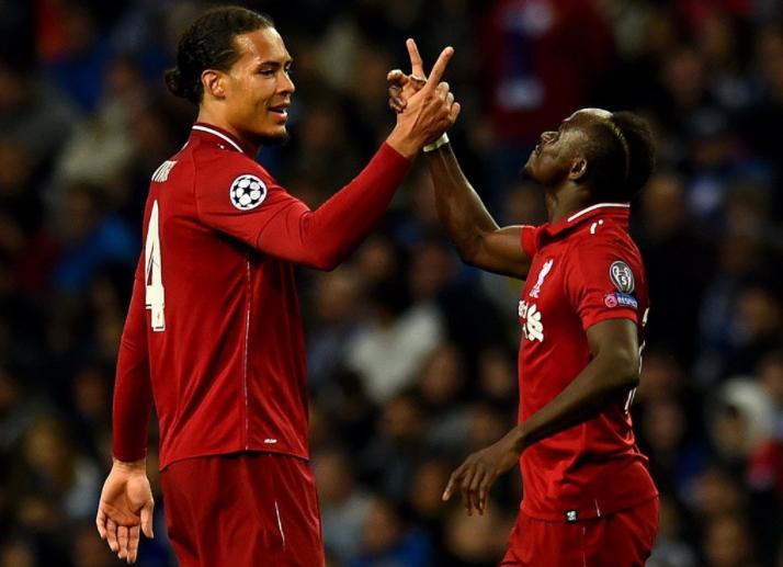 欧冠:马内萨拉赫传射建功,利物浦客场4-1波尔图
